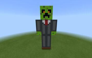 Darkmazeblox statue by darkmazeblox. Minecraft Map & Project