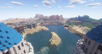 Terranport and surround - map file too big : ( Minecraft Map & Project