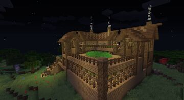 A Part of the Village Minecraft Map & Project