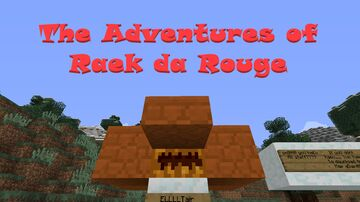 The Adventures of Raek the Rouge [Played by DanTDM!] Minecraft Map & Project