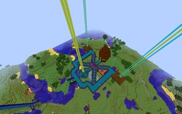 SXA and hand made cave Minecraft Map & Project