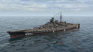German Battleship Bismarck 1:1 Scale Minecraft Map & Project