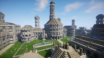 Fortress of Fornost Erain Minecraft Map & Project