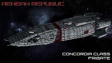 Concordia Class Frigate Minecraft Map & Project