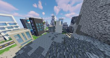 Pokemon Steel Gym Spawn - Gym - City - Town (Discord for commissions) Minecraft Map & Project