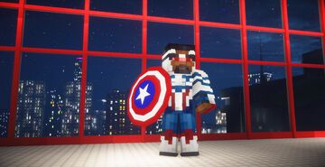 【 Falcon and Winter Soldier】【 Captain America and Winter Soldier】 Minecraft Map & Project