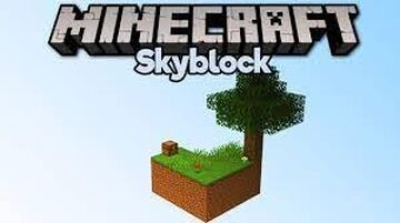 sky block normal Minecraft Map & Project