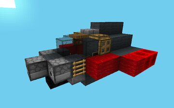 TBF Spearfish Torpedo Bomber [Movecraft Airskiff] Minecraft Map & Project