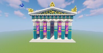 Greek Temple of Zeus / Assassin's Creed Odyssey Minecraft Map & Project