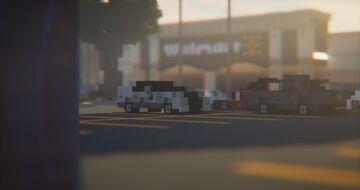 Walmart Supercenter Minecraft Map & Project