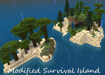 Modified Survival Spawn Minecraft Map & Project