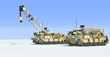 M88A2 Hercules Recovery Vehicle Minecraft Map & Project