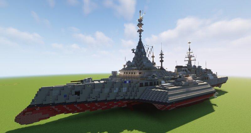 Beast Class Destroyer (Fictional) (Schematic)