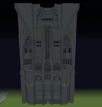FRONT GATE TO EREBOR (no mountain) Minecraft Map & Project