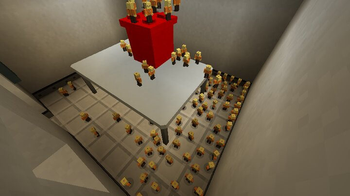 SCP Living Lego. Its cool to have alive LEGO men. Right?