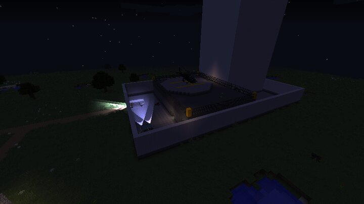 SCP Site-19 from the outside.