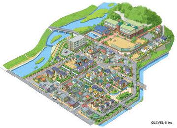 Yo-kai Watch - Springdale Minecraft Map & Project