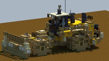 Cat 836K Landfill Compactor [With Download] Minecraft Map & Project