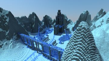 Jotunheim - Realm of the Frost Giants Minecraft Map & Project