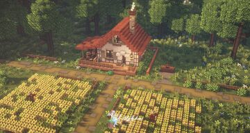 Grandpa's Farm from Stardew Valley 👩🌾🧺 Minecraft Map & Project