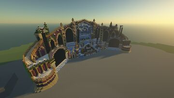 Tomorrowland Winter 2019 Hymn of the Frozen Lotus Minecraft Map & Project