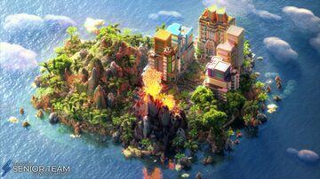 Jungle City Spawn Minecraft Map & Project