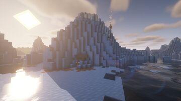 Iceberg Base - Creative Build Series Minecraft Map & Project