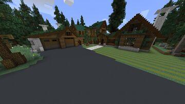 casa moderna de sobrevivrer Minecraft Map & Project