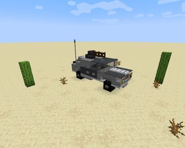 Armored car Minecraft Map & Project