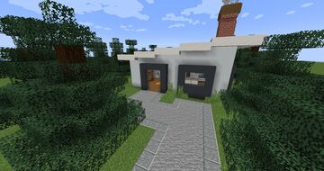 Cool Modern House!! Minecraft Map & Project