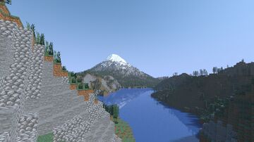Mt St Helens (1970s) Minecraft Map & Project