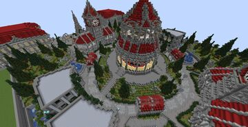 MRC Server Hub/Lobby Minecraft Map & Project