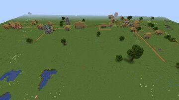 modernizing village Minecraft Map & Project