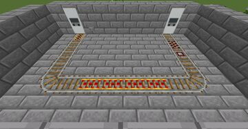 'Clean' Design Minecart Station Minecraft Map & Project