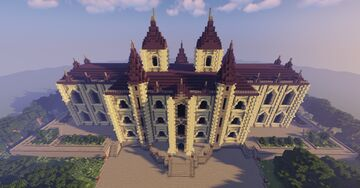 Batman - Wayne Manor - Arkhamverse Minecraft Map & Project
