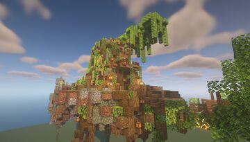 Link Tree House - Zelda Ocarina of Time (Log Shop Idea) Minecraft Map & Project