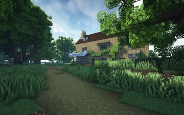 Richardson & Sons greengrocers, Edensor Minecraft Map & Project