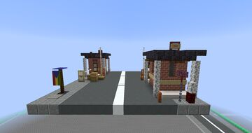 Tropico 6 Security Checkpoint Minecraft Map & Project