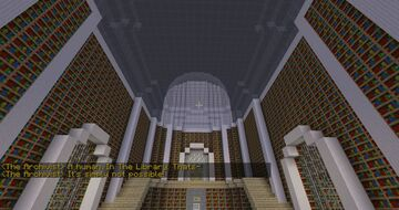 Abandoned Archives Minecraft Map & Project