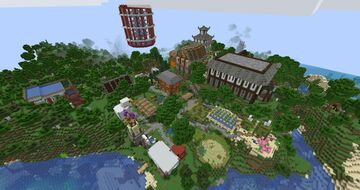 My Survival World Minecraft Map & Project