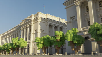 Twin Palaces Minecraft Map & Project