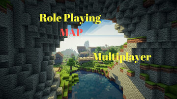 Role Playing Map | A New Big City | Multiplayer Minecraft Map & Project