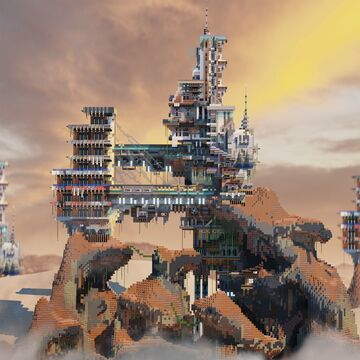 ---People pile up at the top.. Minecraft Map & Project
