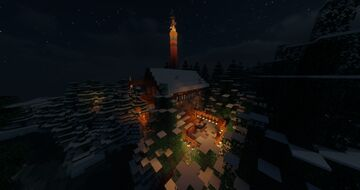Fireworks Inc. - Factory house Minecraft Map & Project