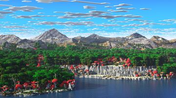 Qiraterra - The Tropical Fantasy World -  (3k, Download, 1.16+, Java & Bedrock, Realistic Minecraft Survival World ) Minecraft Map & Project