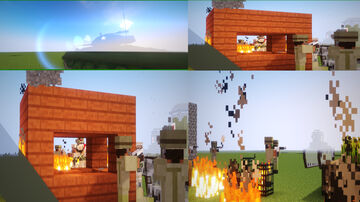 Mine war 2 Minecraft Map & Project