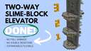 Flush Slime-Block Elevator -- No Visible Redstone, No Fall Damage Minecraft Map & Project