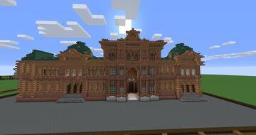 Argentina's Casa Rosada Minecraft Map & Project