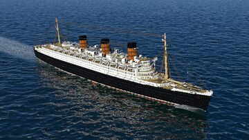 RMS Queen Mary 1936 Minecraft Map & Project