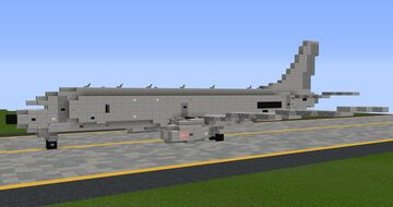 Boeing P-8A Poseidon - 1.25:1 Scale Minecraft Map & Project